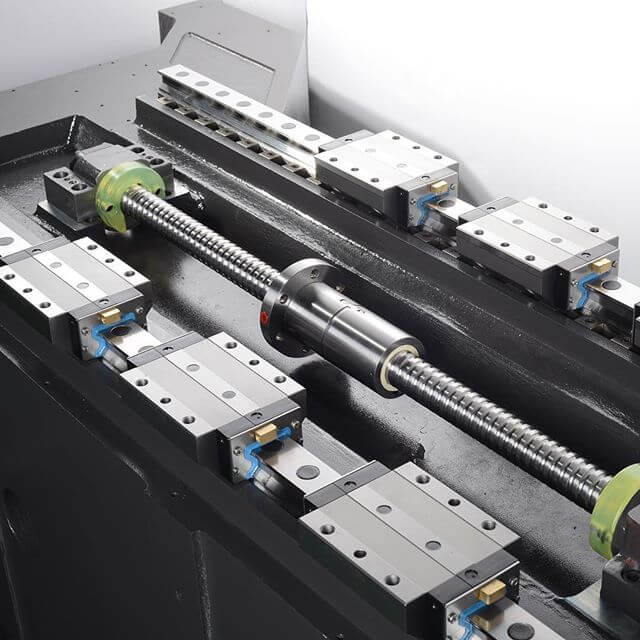 Ball screw and linear guide