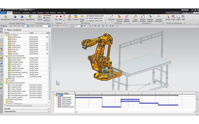 CNC machining center programming software Unigraphics NX