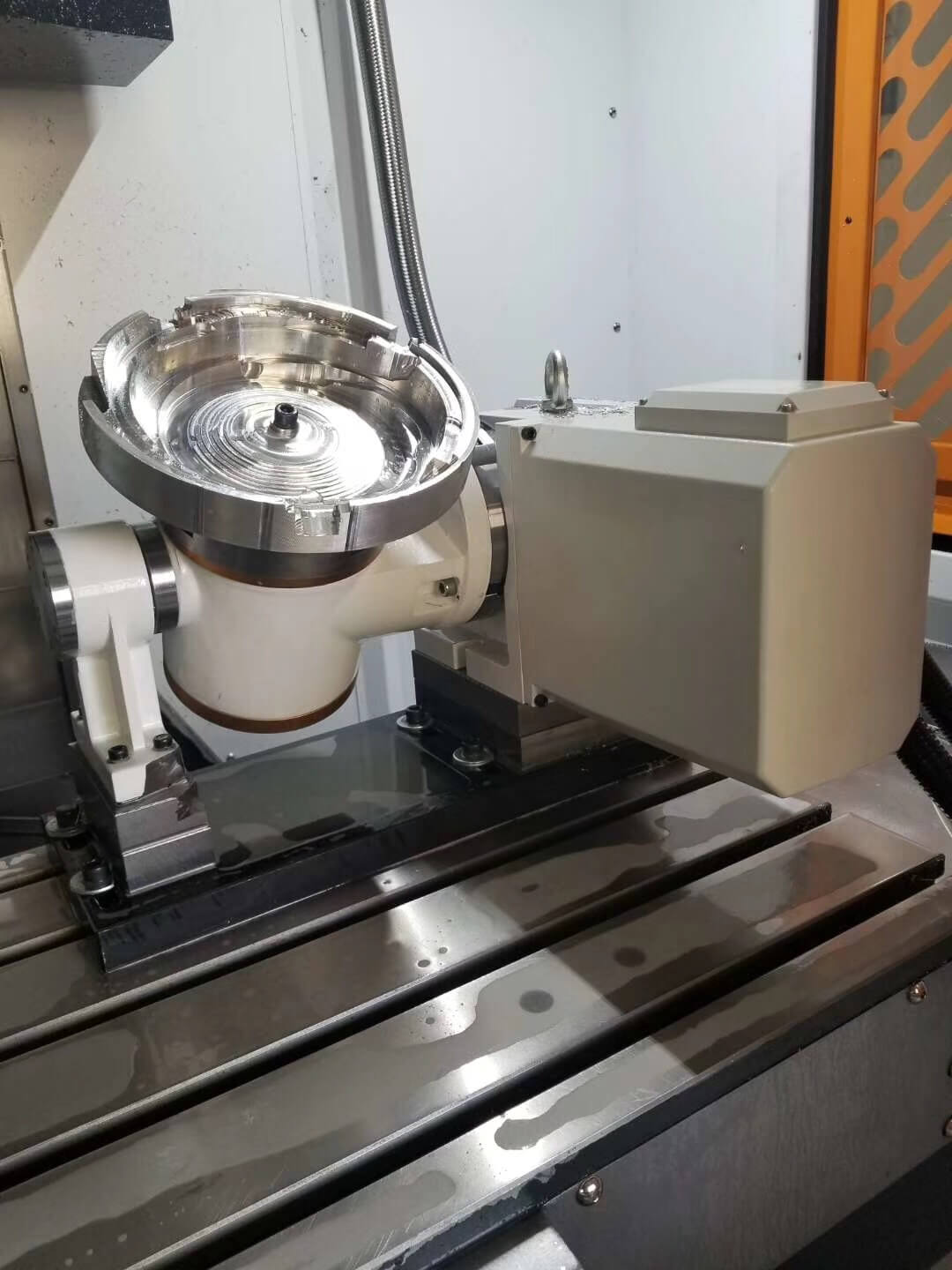 What is a small 5-axis CNC milling machine
