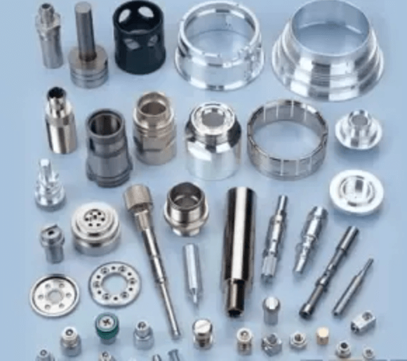 CNC milling machine processing samples