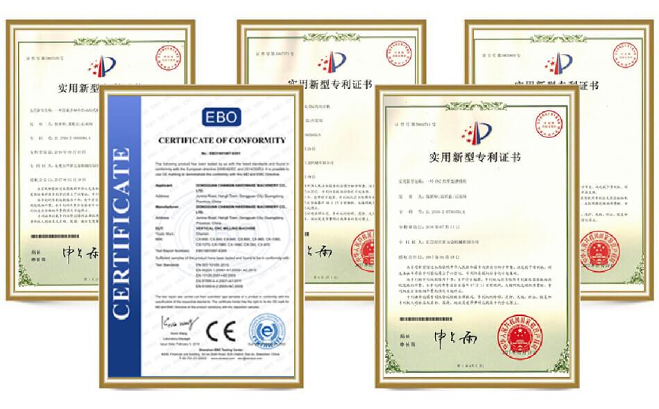 TAICNC certificate