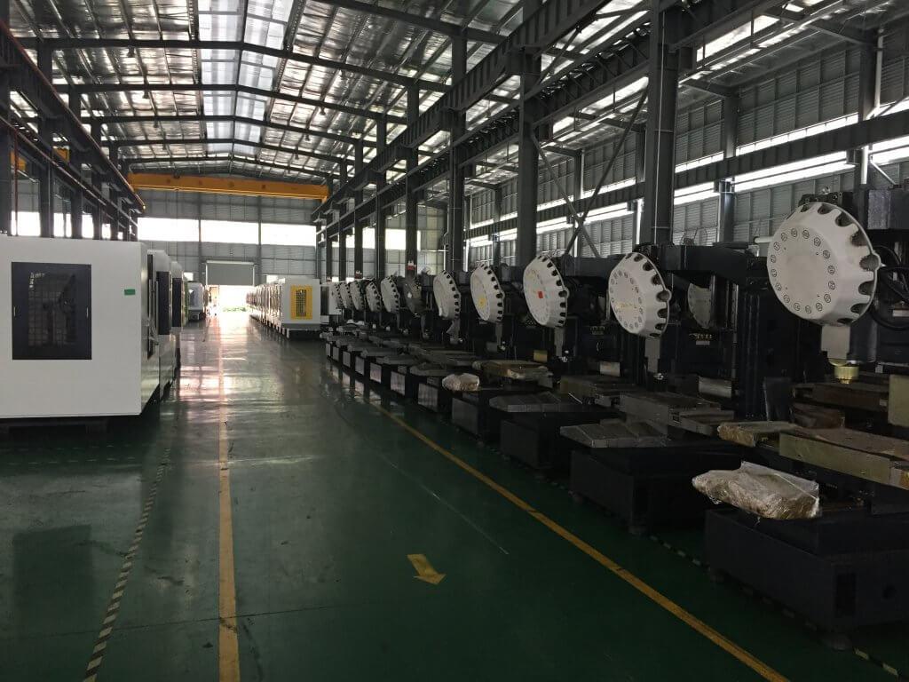 TAICNC manufacturing plant