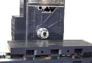Horizontal machining center head