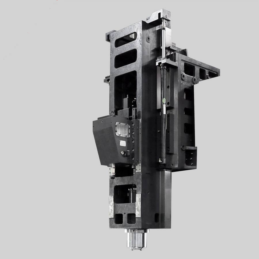 CNC gantry milling machine head