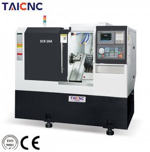 SCK-26A Slant bed CNC lathe Machine