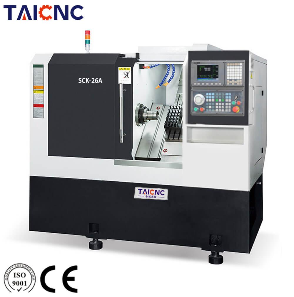 SCK-26A Slant bed CNC lathe