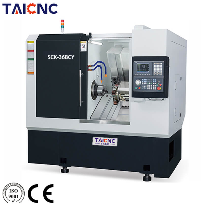 SCK-36BCY Horizontal CNC Turning Center Machine