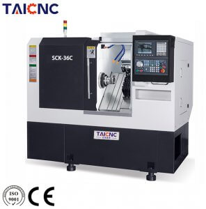 SCK-36C Slant Bed Turning and Milling CNC Machine