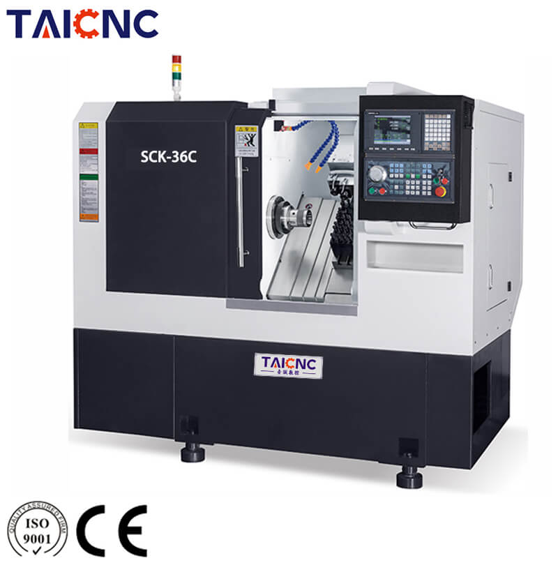 Slant Bed Turning and Milling CNC Machine
