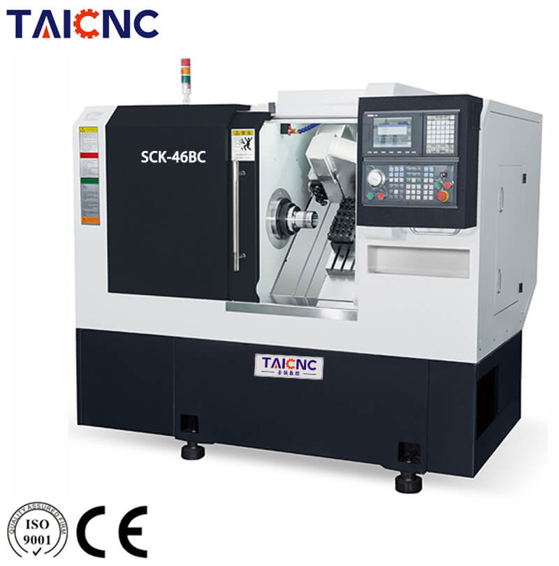 SCK-36CY Turning and Milling CNC Machine
