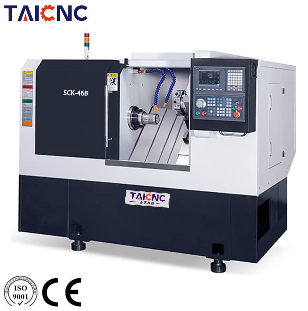 Turret Slant bed CNC lathe Machine