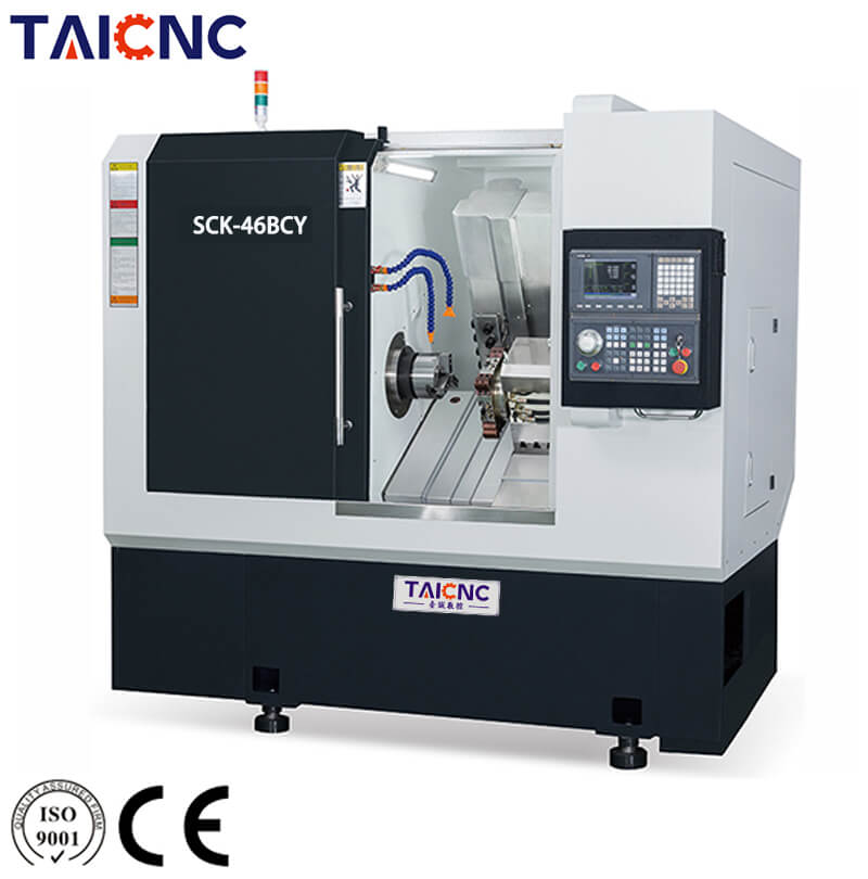SCK-46BCY Horizontal CNC Turning Center Machine