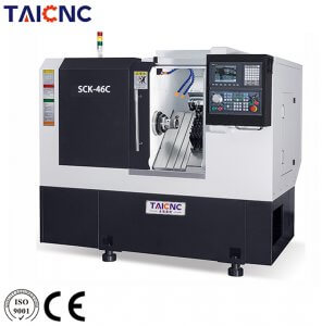 SCK-46C Slant Bed Turning and Milling CNC Machine