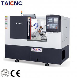 SCK-46D Turret Slant Bed CNC Lathe Machine