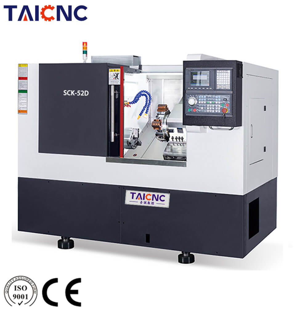 SCK-52D Turret Slant Bed CNC Lathe Machine
