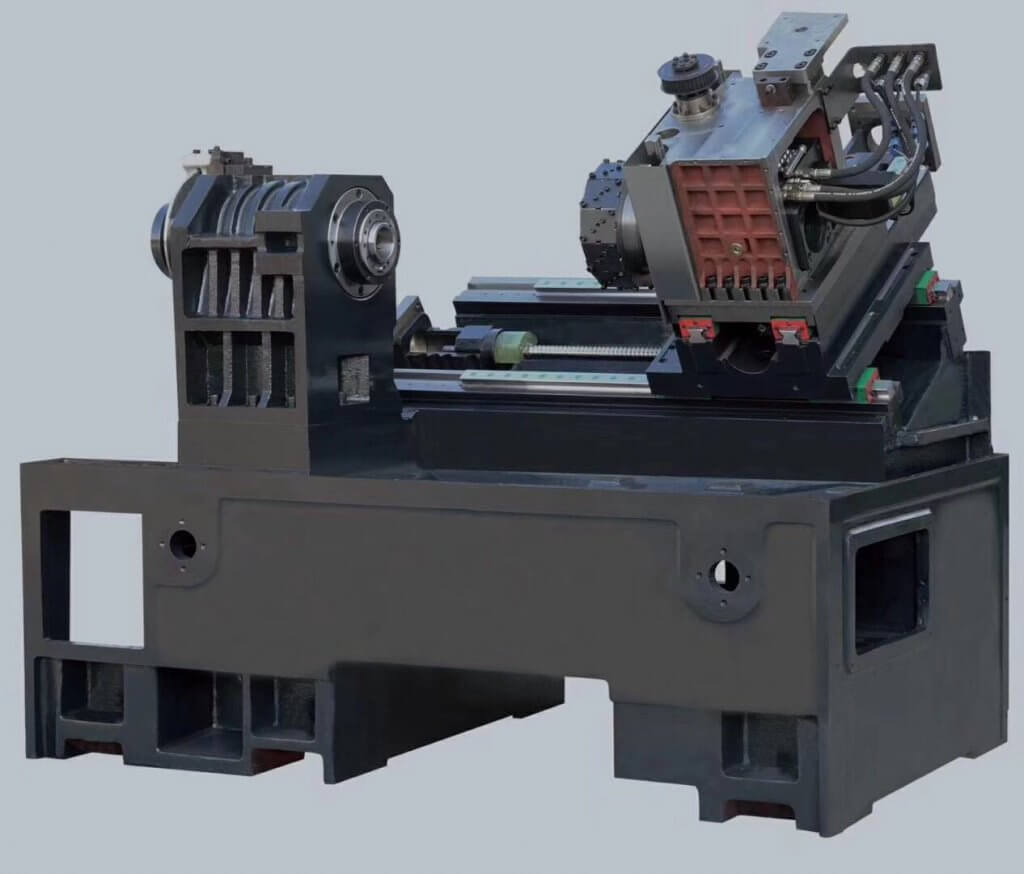 Turret CNC lathe